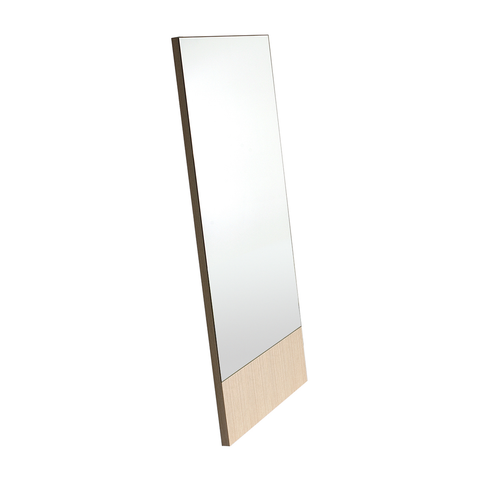 Bensen - Lean Mirror - White Oak / Narrow - Lekker Home