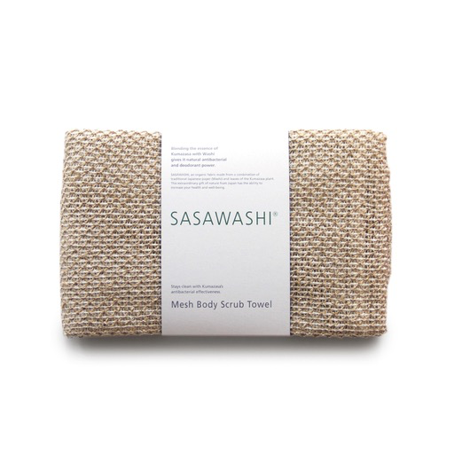 Kontex Towels - Sasawashi Mesh Body Scrub Towel - Lekker Home - 1