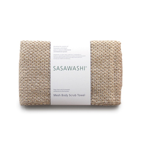 Kontex Towels - Sasawashi Mesh Body Scrub Towel - Default - Lekker Home