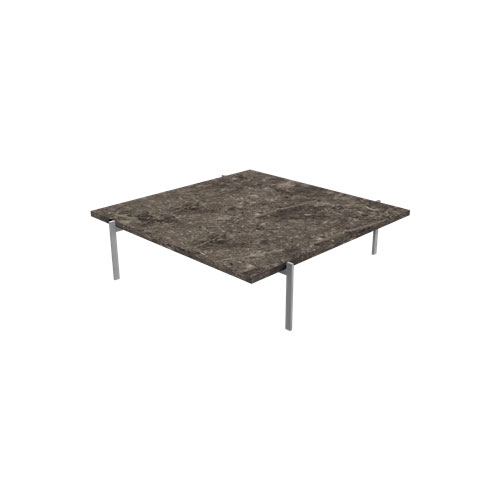 Fritz Hansen - PK61™ Coffee Table - Marble Grey Brown / PK61A - Lekker Home