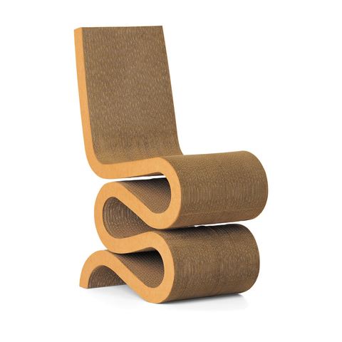Vitra - Wiggle Side Chair - Lekker Home