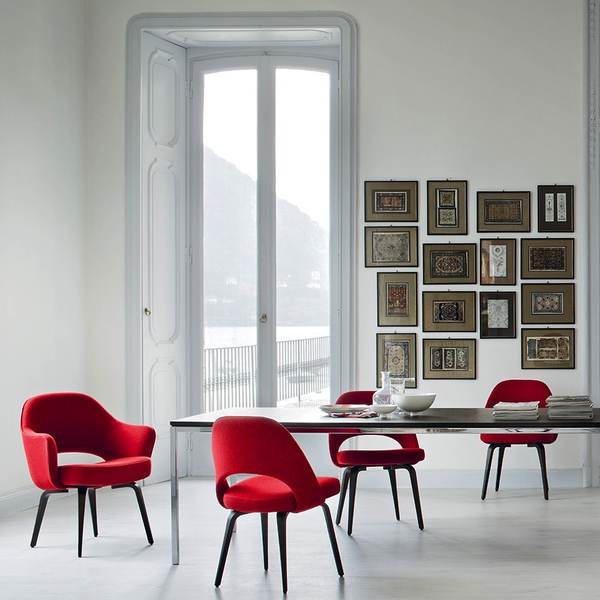 Saarinen executive armless chair by knoll lekker home for Saarinen executive armless chair