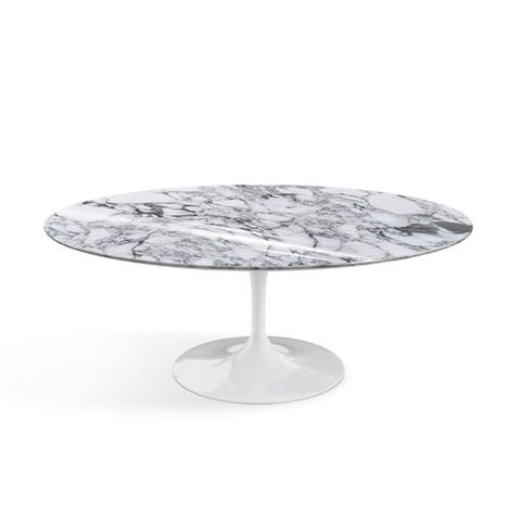 Knoll - Saarinen Coffee Table Oval - Lekker Home
