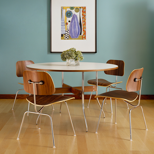 Nelson™ Swag Leg Dining Table Round By Herman Miller