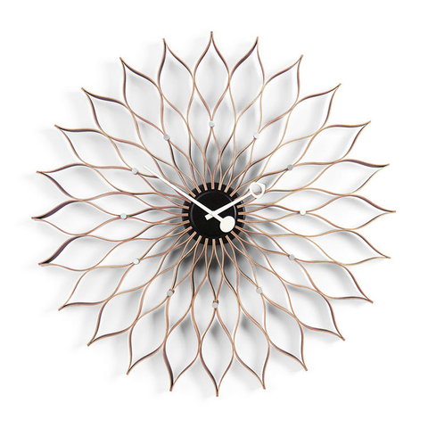 Vitra - Nelson™ Sunflower Clock - Birch / One Size - Lekker Home