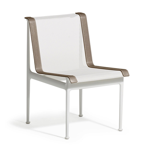 Knoll - 1966 Dining Armless Chair - Plum/White / One Size - Lekker Home