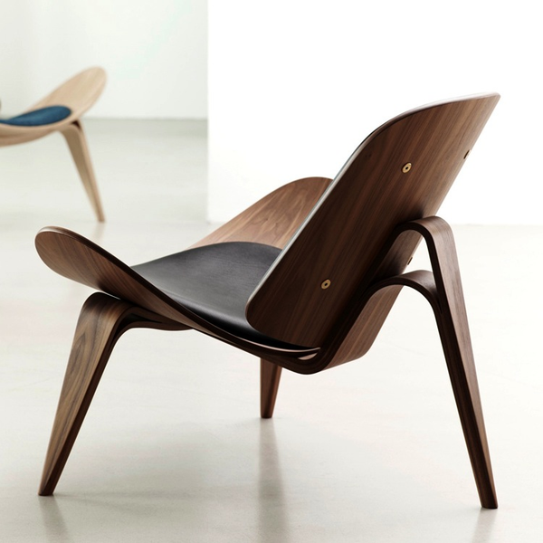Carl Hansen - CH07 Shell Lounge Chair - Lekker Home - 4