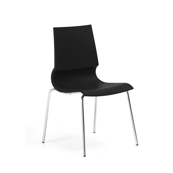 Knoll - Gigi® Armless Stacking Chair - Lekker Home - 8