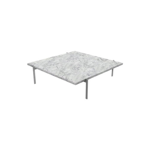 Fritz Hansen - PK61™ Coffee Table - Marble White Honed / PK61A - Lekker Home