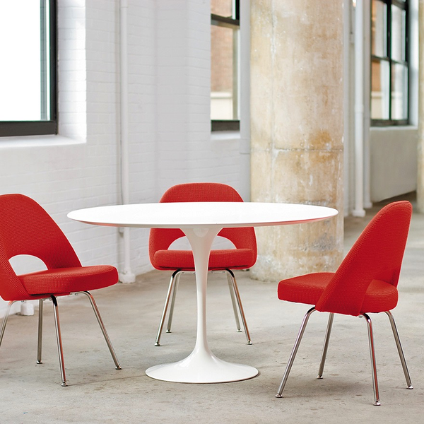 "Knoll - Saarinen Dining Table 47"" Round - Lekker Home - 4"