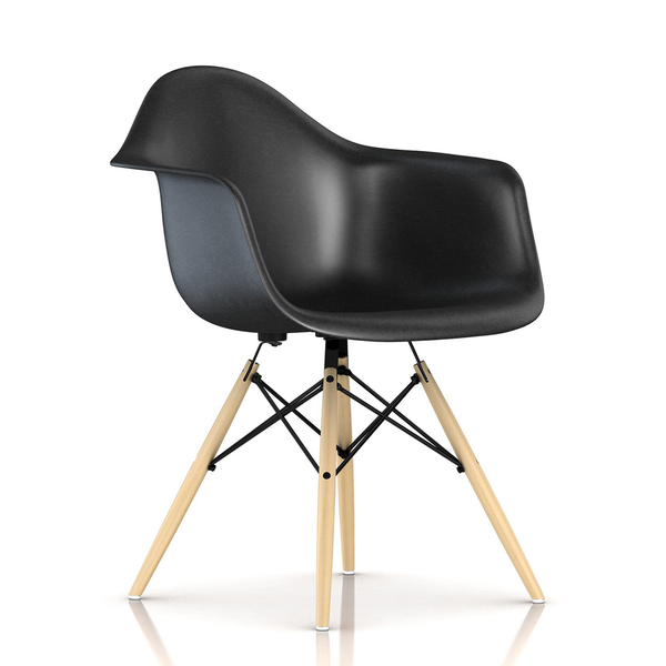 Herman Miller - Eames® Molded Fiberglass Armchair - Wood Dowel Base - Lekker Home