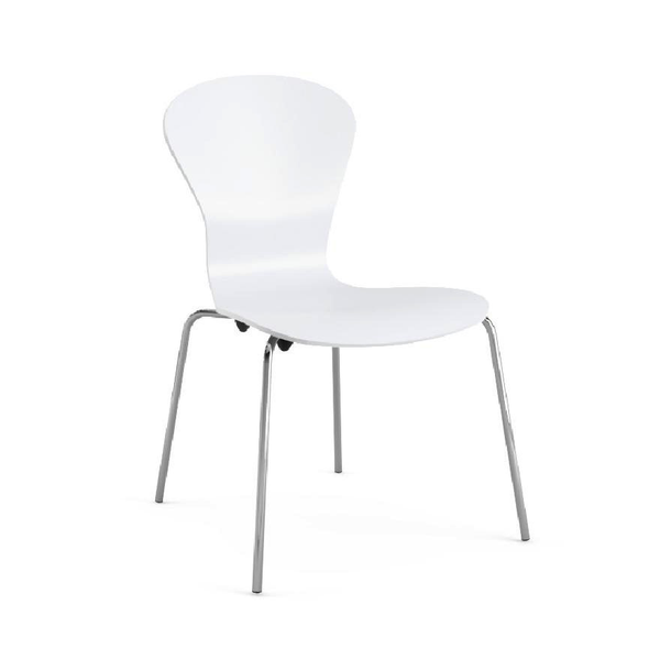 Knoll - Sprite Armless Stacking Chair - Lekker Home - 8