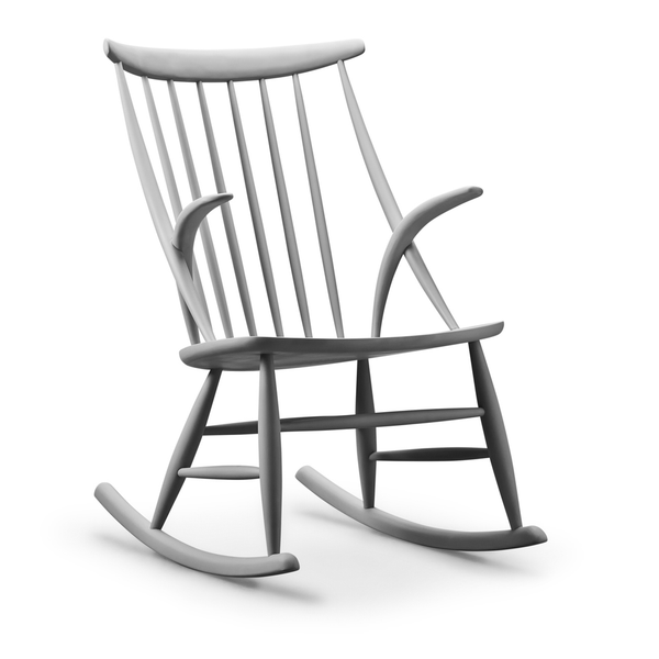 Eilersen - IW3 Rocking Chair - Lekker Home - 4