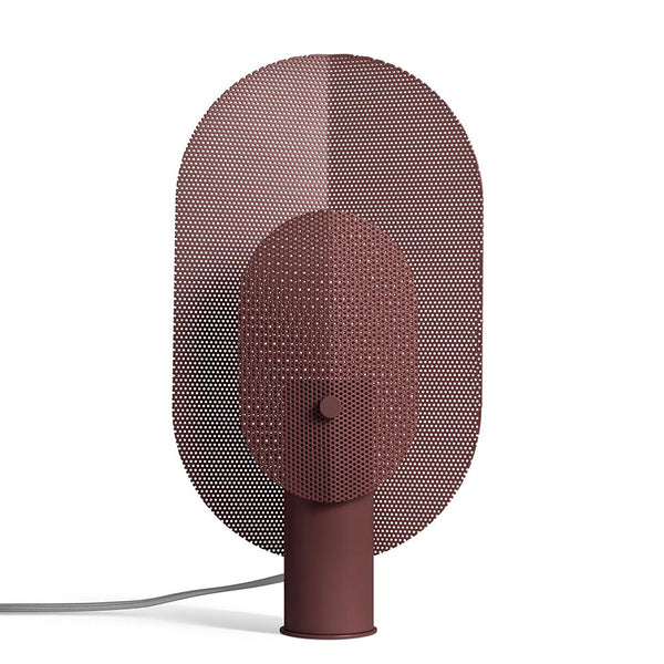 Blu Dot - Filter Table Lamp - Oxblood / One Size - Lekker Home