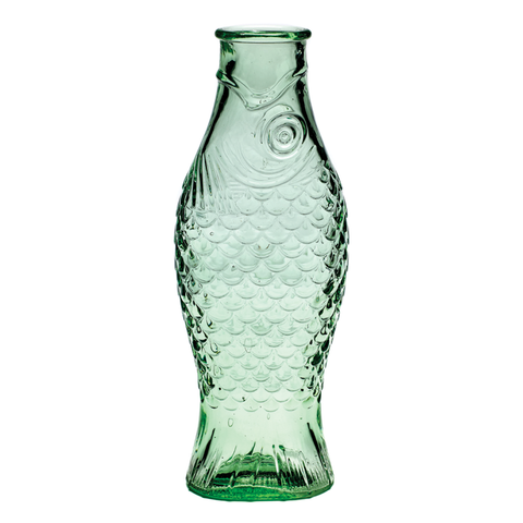 Serax - Green Glass Fish Carafe - Default - Lekker Home
