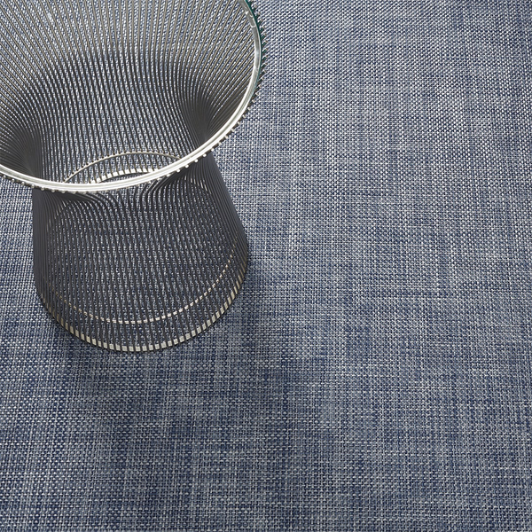 Chilewich - Basketweave Floor Mat - Denim / Large Runner - Lekker Home