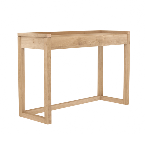 "Ethnicraft NV - Frame PC Desk - Solid Teak / 47"" - Lekker Home"