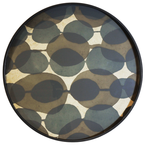 Ethnicraft NV - Connected Dots Round Tray - Lekker Home