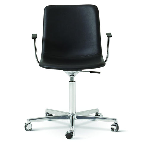 Fredericia - Pato Office Armchair - Rime 981 / Black Painted - Lekker Home