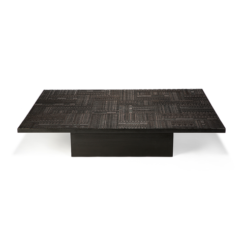 Ethnicraft NV - Ancestors Tabwa Blok Coffee Table - Lekker Home