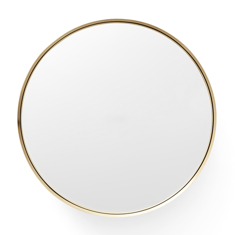 Menu A/S - Darkly Mirror - Small / Brass - Lekker Home