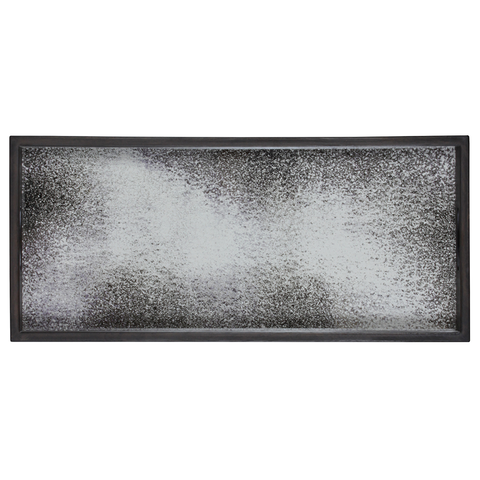 Notre Monde - Aged Mirror Rectangular Tray - Bronze / Small - Lekker Home