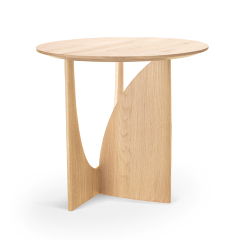 Ethnicraft NV - Geometric Side Table - Blackstone Oak / One Size - Lekker Home