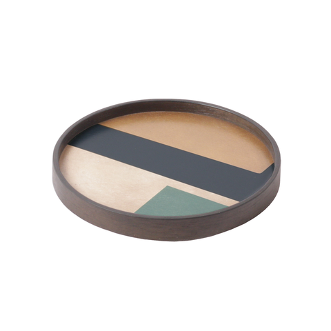 Notre Monde - Geo Study Tray - One color / Round - Lekker Home