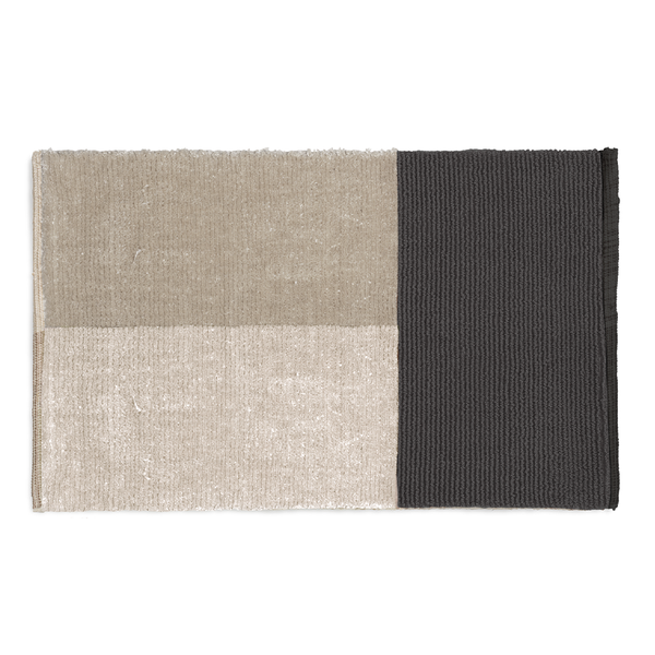 Ferm Living - Pile Bath Mat - Grey / One Size - Lekker Home