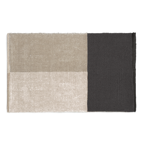 Ferm Living - Pile Bath Mat - Brown / One Size - Lekker Home