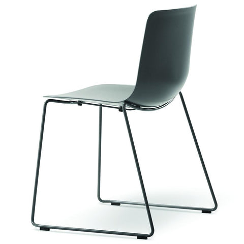 Fredericia - Pato Sledge Chair - Ocean / Chrome - Lekker Home