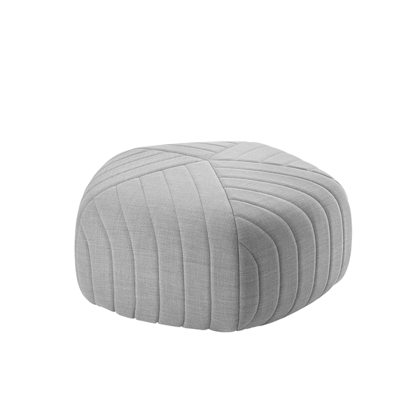 Muuto - Five Pouf - Light Grey / Small - Lekker Home
