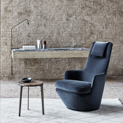 Bensen - Hi Turn Chair - Scoop 36 / Standard Swivel - Lekker Home
