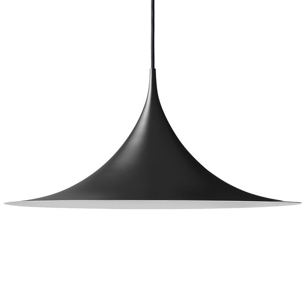 GUBI - Semi Pendant - Black Semi Matte / Large - Lekker Home