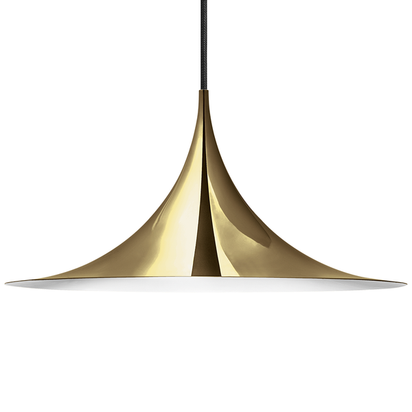 GUBI - Semi Pendant - Polished Brass / Large - Lekker Home