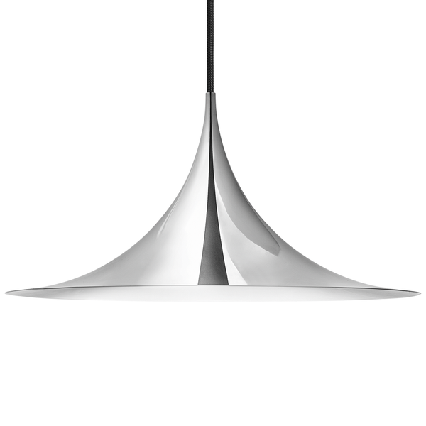 GUBI - Semi Pendant - Chrome / Large - Lekker Home
