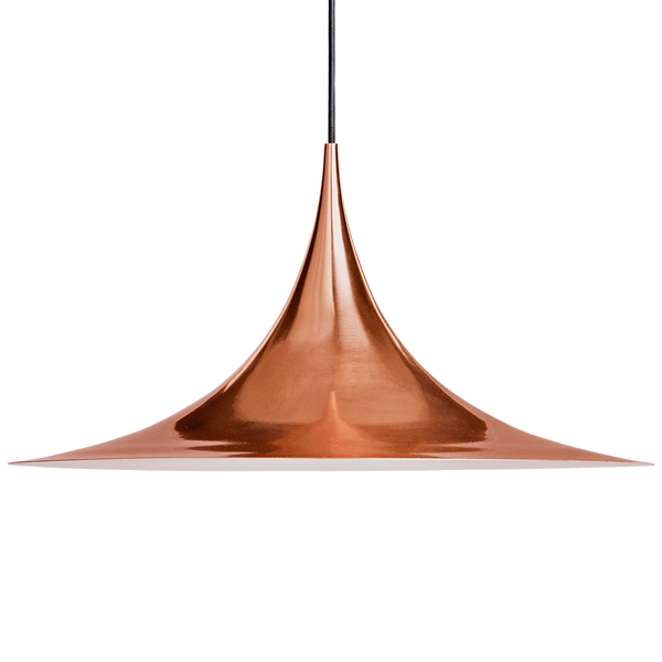 GUBI - Semi Pendant - Copper / Large - Lekker Home