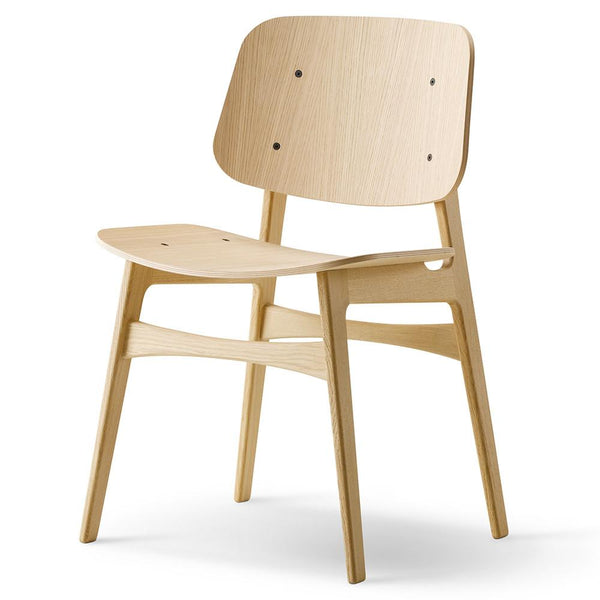 Fredericia - Søborg Chair - Wood Frame - Lacquered Oak / One Size - Lekker Home
