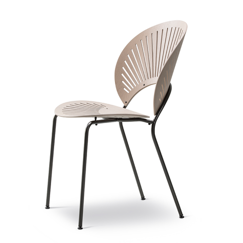 Fredericia - Trinidad Chair - Smoked Oak / Flint - Lekker Home