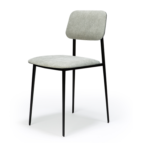Ethnicraft NV - DC Dining Chair - Dark Grey / One Size - Lekker Home