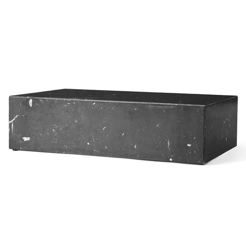 Menu A/S - Plinth Coffee Table - Black / Low - Lekker Home