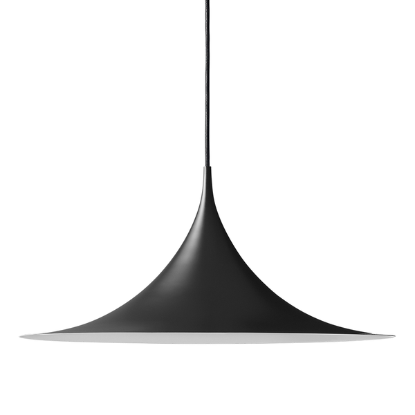 GUBI - Semi Pendant - Black Semi Matte / Medium - Lekker Home