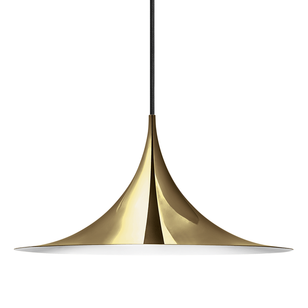 GUBI - Semi Pendant - Polished Brass / Medium - Lekker Home