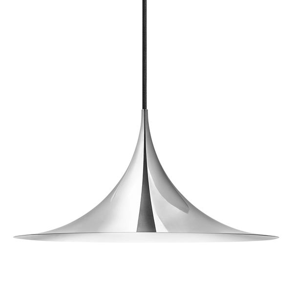 GUBI - Semi Pendant - Chrome / Medium - Lekker Home