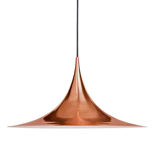 GUBI - Semi Pendant - Copper / Medium - Lekker Home