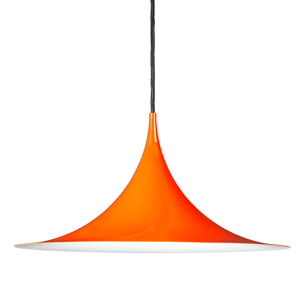 GUBI - Semi Pendant - Orange Glossy / Medium - Lekker Home