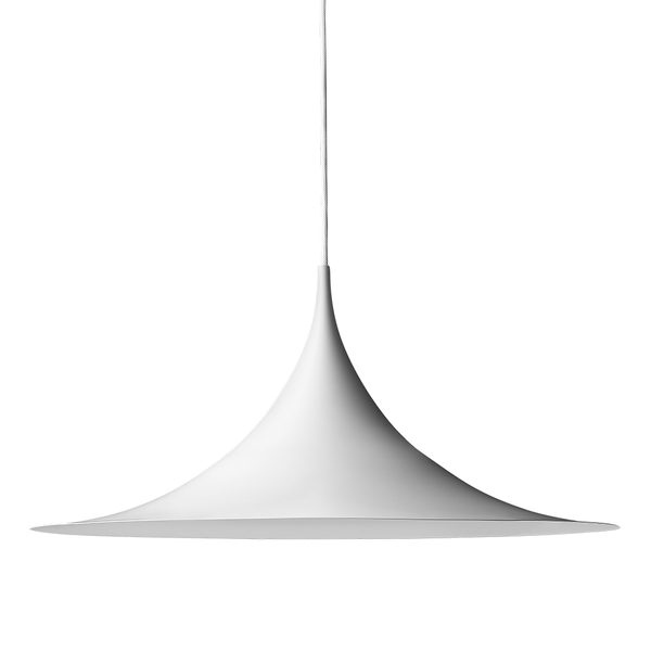 GUBI - Semi Pendant - White Semi Matte / Medium - Lekker Home