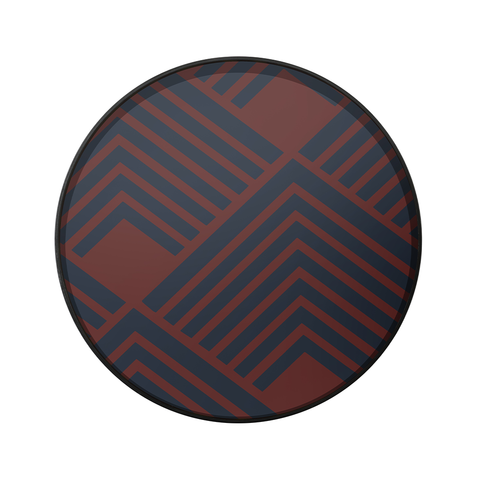 Ethnicraft NV - Midnight Chevron Tray - Lekker Home