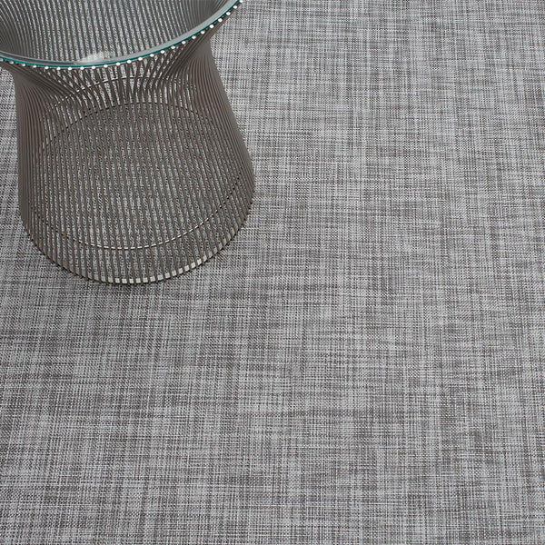 Chilewich - Mini Basketweave Floor Mat - Gravel / Small Runner - Lekker Home