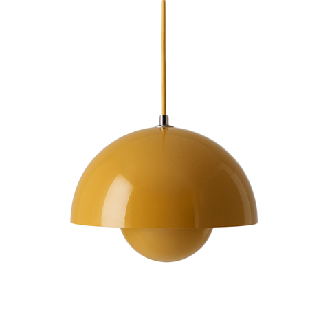 &Tradition - VP1 Flowerpot Pendant - Mustard / One Size - Lekker Home